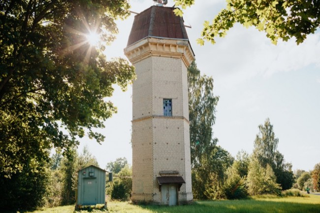 Zilaiskalns Water Tower