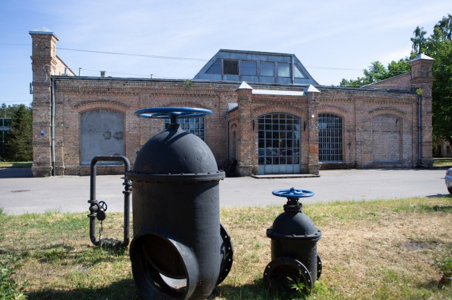 Riga water supply museum